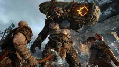 تریلر گیم پلی لو رفته بازی God of War 4