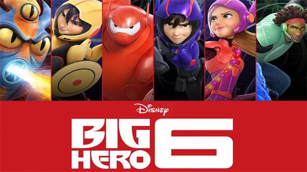 Big Hero 6 (شش ابر قهرمان) آی نقد