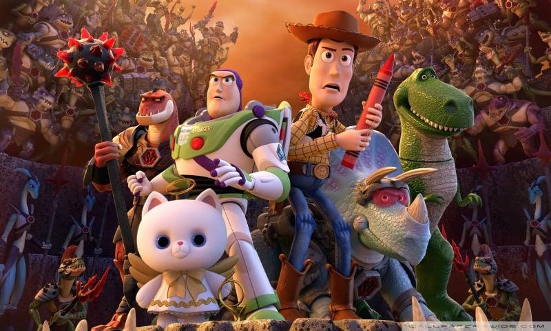 بررسی و تحلیل سری انیمیشن (Toy Story)داستان اساب بازی ها