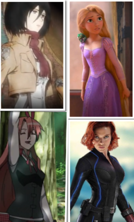 نیم نگاهی به نوع و ایفای نقش زنان در انیمه ها، انیمیشن ها و فیلم ها